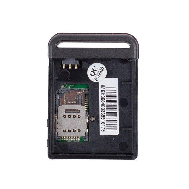 Nouvelle Arrivée Top Qualité Mini GPS/GSM/GPRS pour Véhicules Tracker TK102B Suivi En Temps Réel Dispositif Personne Piste Dispositif livraison Gratuite