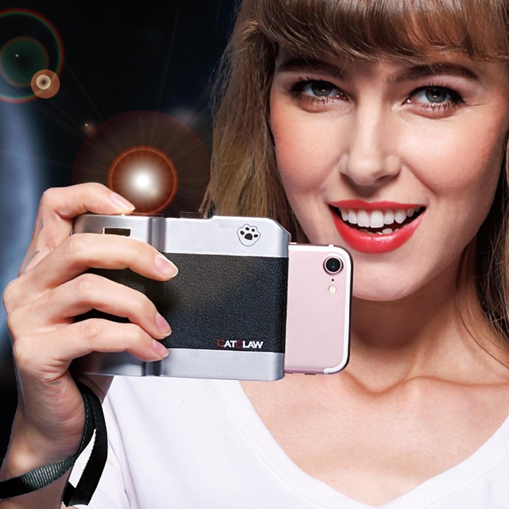 Mobile Camera Selfie Handle Mobile DSLR Transform Shooting Controller For 5.5'' Phone 6 Plus 7 Plus 6P 7P ISO WB Adjustment