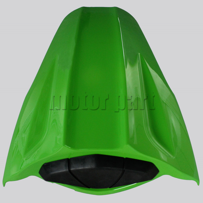 For 2011-2015 Kawasaki NINJA ZX10R ZX 10R Motorcycle Rear Passenger Seat Cover Cowl Green 11 12 13 14 15 for 2009 2014 kawasaki zx6r zx 6r 636 motorcycle rear passenger seat cover cowl green black 09 10 11 12 13 14