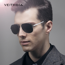 2017 VEITHDIA Aluminum Polarized Classic Mirror Sun glasses Male Eyewear Accessories Goggle Oculos Sunglasses for Men 3364