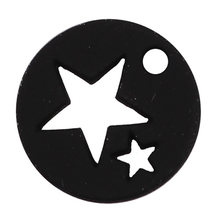 2018 FASHION Fashion Jewelry Findings Hollow Star Small Charms Pendant For DIY Necklace & Bracelet Earrings(China)