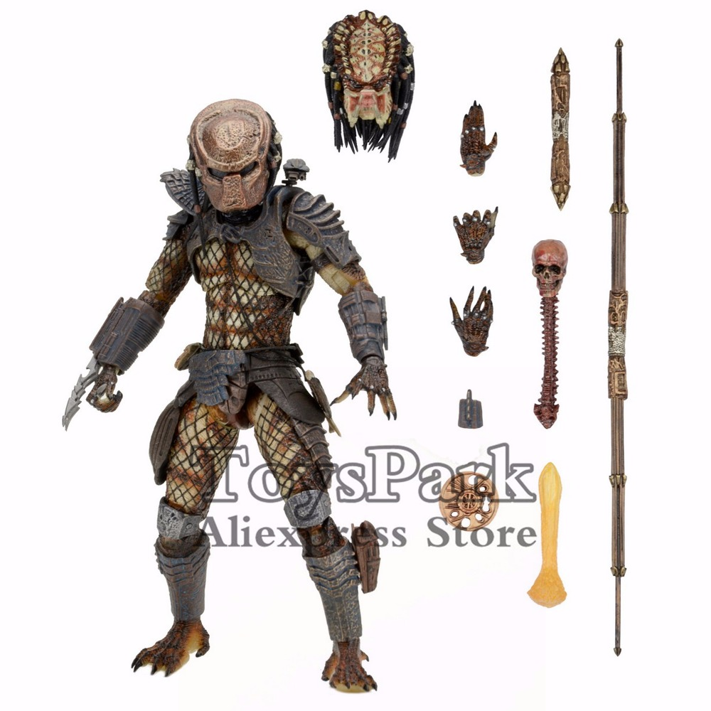 ToysPark Predator 7 Ultimate City Hunter Action Figure 2017 NECA Predator Deluxe Pack Series Collectible NEW IN BOX цена