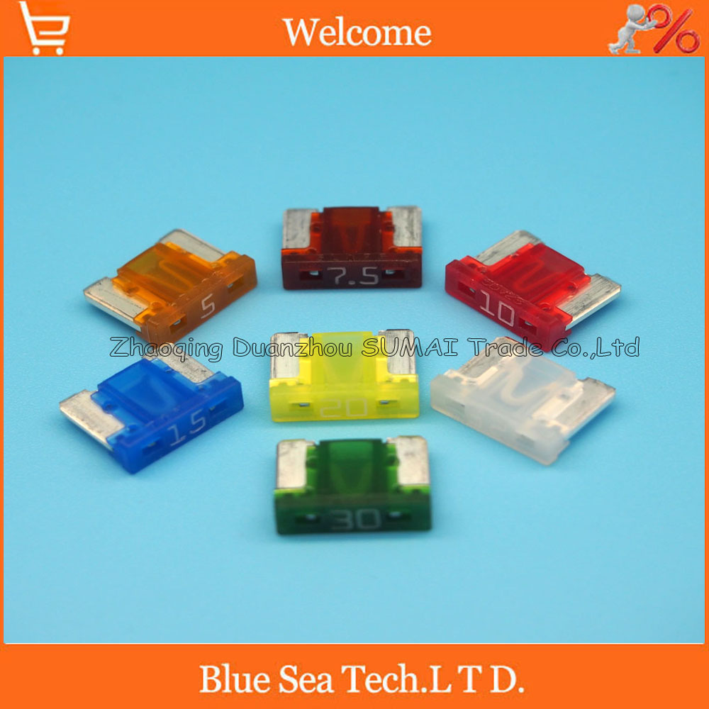 Japanese Cars Spare Spare 10x Low Profile Micro Blade Fuses 7.5 Amp For Car Bike