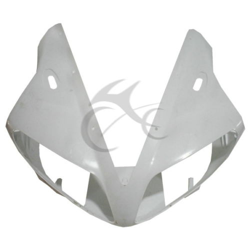UPPER FRONT FAIRING COWL NOSE ABS Plastic FOR YAMAHA YZF R1 YZF-R1 2002 2003 R1 upper front fairing cowl nose fits for yamaha 2004 2005 2006 yzf r1 injection mold abs plastic
