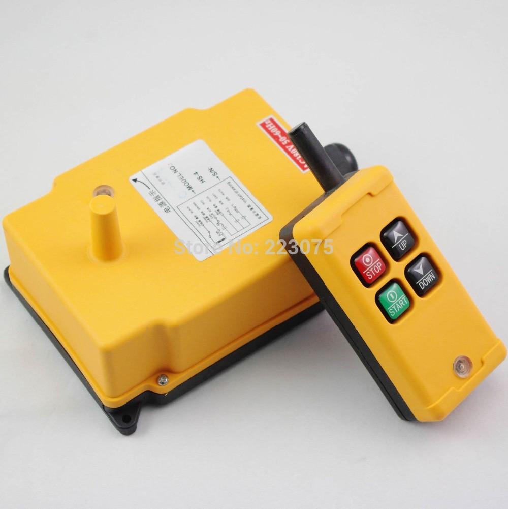 4 Channels Hoist Crane Radio Remote Control System 12V/24V/36V/48V/110V/120V/220V/240V/380V/415V big sale glukhar v