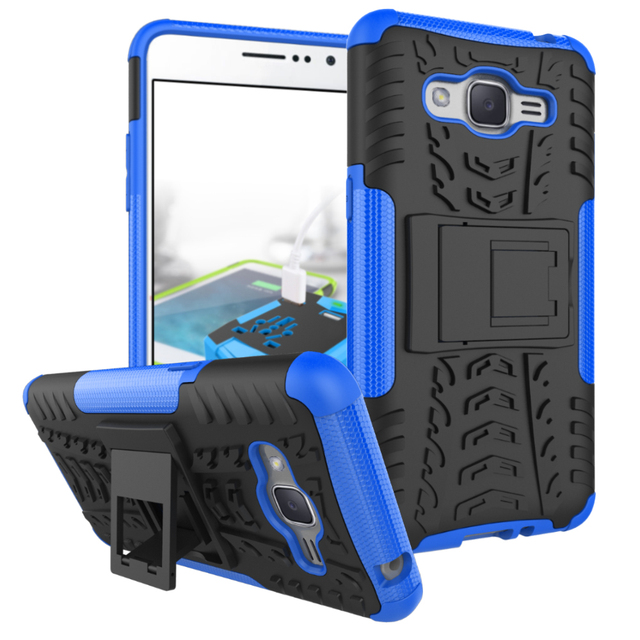 promo code 66aaa 6388b US $3.39 |Hybrid TPU Armor Silicone Rubber Hard Case For Samsung Galaxy J2  Prime Hard Back Cover Impact Case For Samsung J2 Prime-in Fitted Cases from  ...
