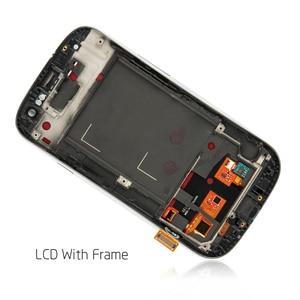Image 3 - لسامسونج غالاكسي SIII S3 Neo i9301 i9300i i9308i i9301i LCD شاشة عرض تعمل باللمس محول الأرقام زجاج الإطار الجمعية استبدال
