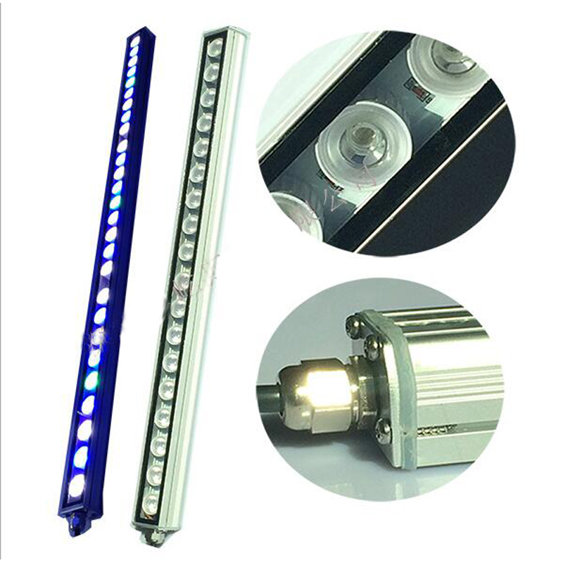 5pcs/lot 81W IP65 Waterproof LED aquarium light bar hard strip lamp for reef coral growth/plant freshwater fish tank lighting