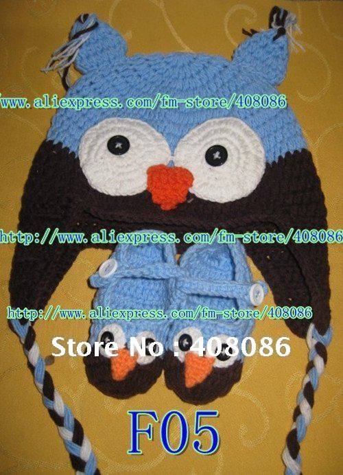 Hot Sale Free Shipping Cotton Animal Hat Crochet Pattern For Baby
