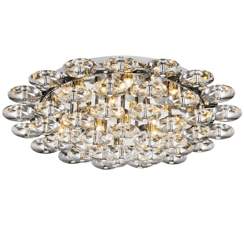 29 Moderne Luxus Kristall Deckenleuchte Freies Verschiffen Lotosblume Modell Tawny Crystals Edle Wohnzimmer