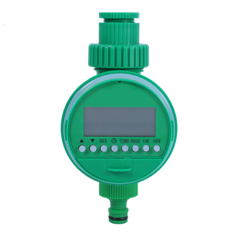 LCD Solenoid Valve Watering Timer Irrigation Controller Garden Automatic  q Ц