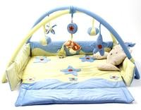 Music Baby Play Mat Floor Rug Children Fleece Soft Touch Blanket Bed