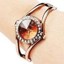 Fashion Rose Gold women's watches bracelet watch women watches luxury diamond ladies watch clock