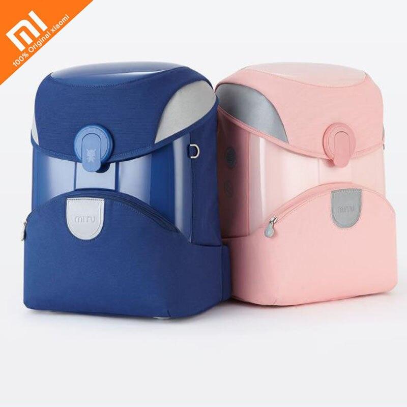 Original xiaomi mijia children s school bag 2 student backpack burden reduction 3M reflective material night