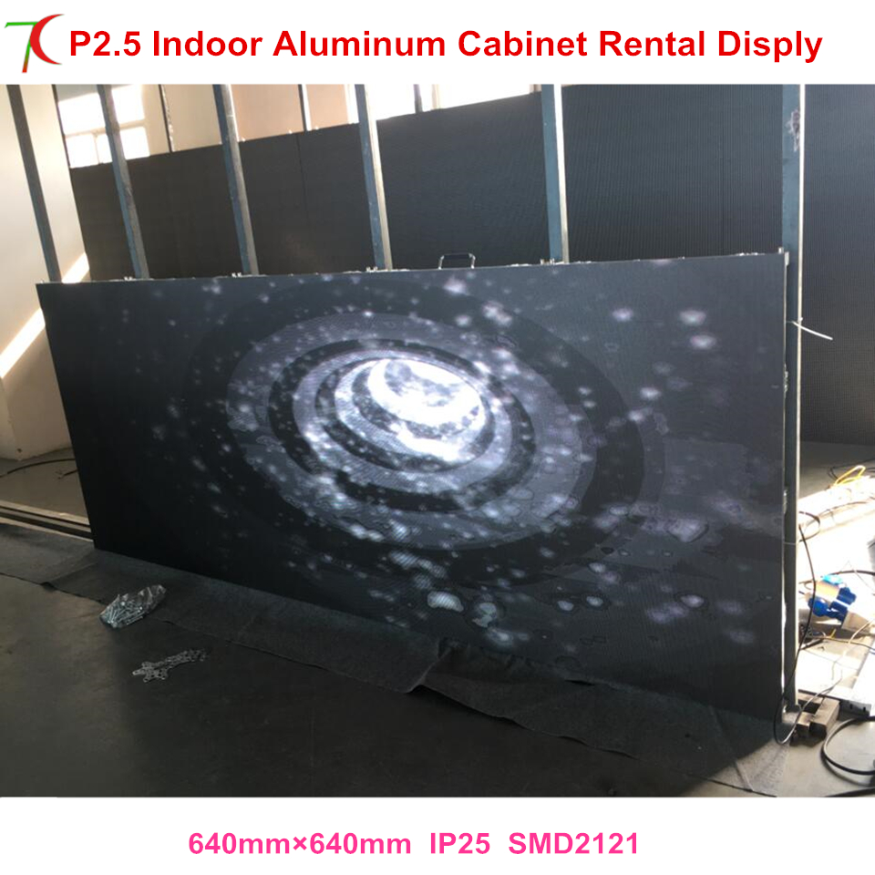 Factory Directly Sales SMD Indoor Full Color Rental Advertisement  Screen Cabinet  Wall Panel Led Video Display