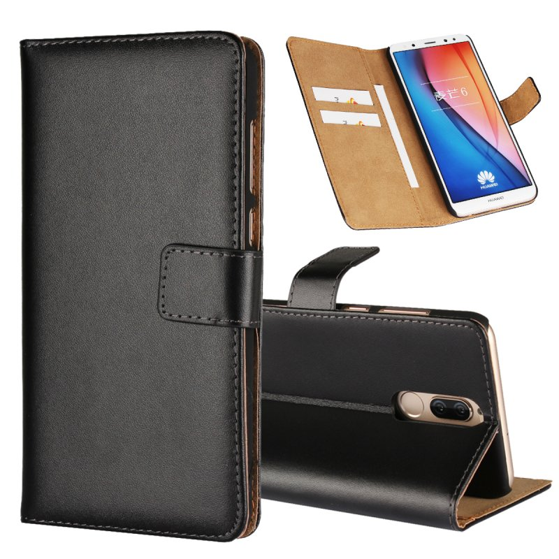 e591e69a863854 Leather Case For Huawei Mate 10 Lite Wallet Flip Cover Cases For ...