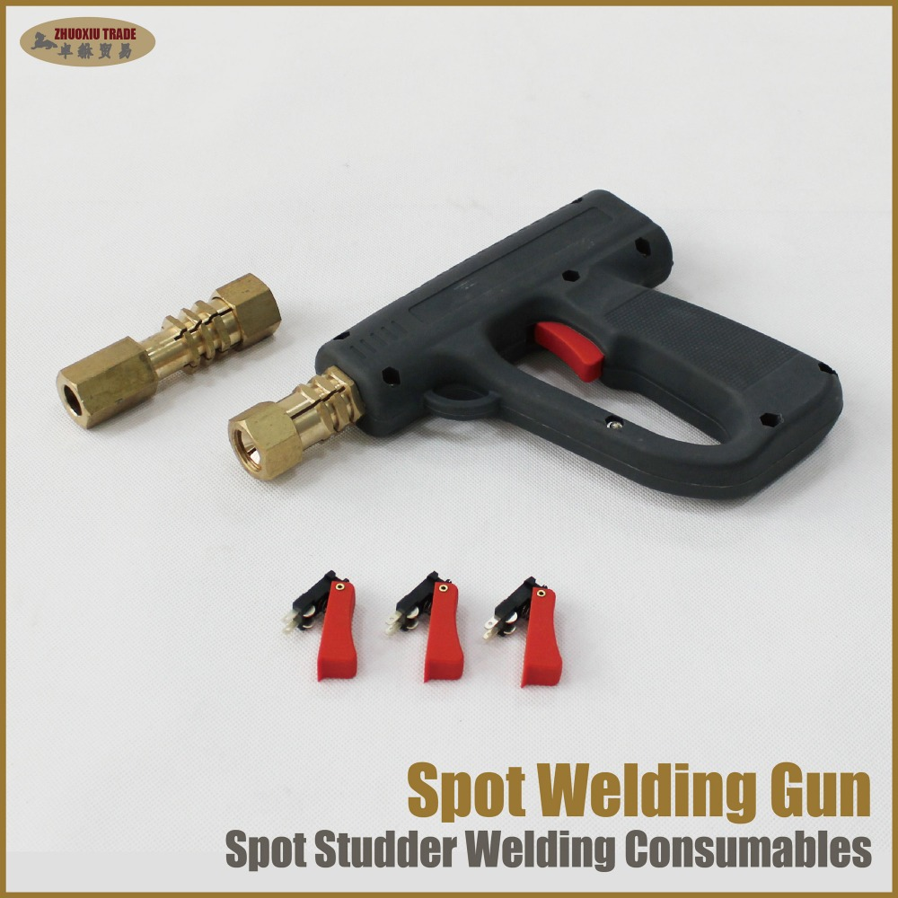 Car spotter spot welding gun stud welder dent repair pulling hammer spot-welding tools weld shrink metal sheet heat shrinking цены