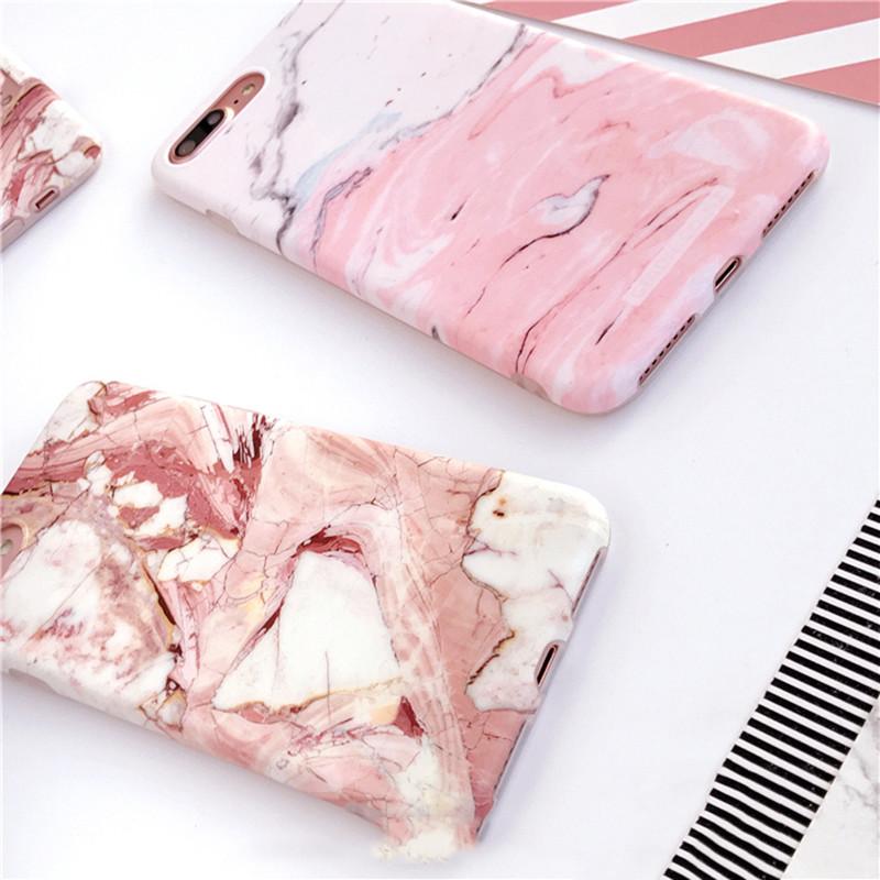 HTB1kqeEOXXXXXbmapXXq6xXFXXX1 - Light Pink Marble Stone Pattern Soft Silicon Phone Cases For iPhone 7 Plus 6 6S Plus Shell PTC 100