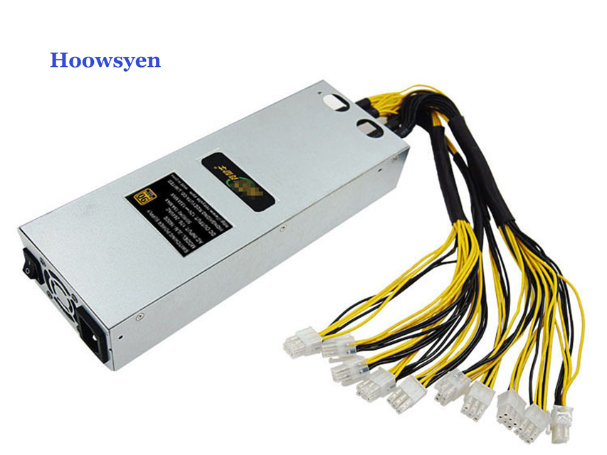 Asic Bitcoin Power Supply 1800w Mining Case Antminer S7 S9 L3 D3 APW3 Video Card Special