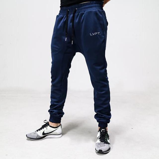 Homens Moletom Marca Masculino Algodão Harem Pants Corredores Casuais Mens Basculadores Calças Sólidas para Homens