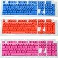 Бесплатная Доставка Колпачки ABS Двойной Цвет Прозрачный Новый Дизайн Радуга Цвет Механической Клавиатуры