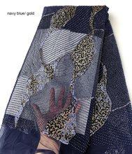 Tissu tulle pour mariage en dentelle française classique, génial, fait à la main, avec tous les petits perles de cristal, double paillettes, 5 yards