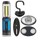 18650 УДАР Факел Зарядки Linterns LED USB Аккумуляторная Фонарик Свет Работы Магнитного КРЮК с Функцией Мобильного Питания