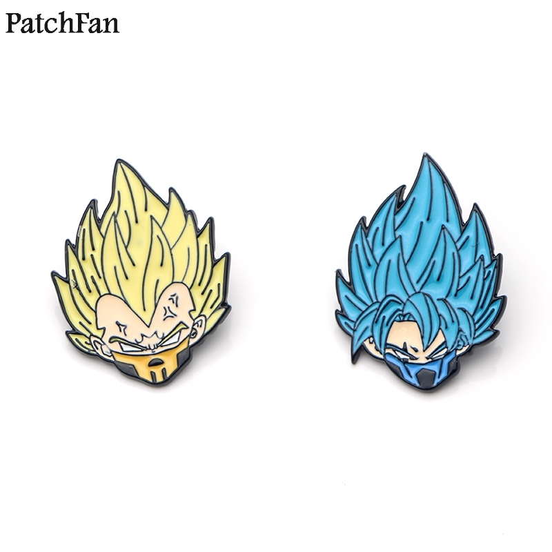 Faithful 20pcs/lot Patchfan Dragon Ball Son Goku Saiyan Zinc Tie Pins Backpack Clothes Brooches For Men Women Hat Decoration Badges A0968 Arts,crafts & Sewing