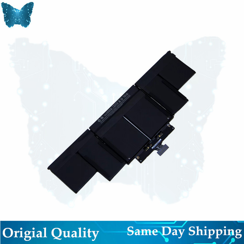 """Image 2 - Original A1494 Battery For Macbook Pro 15"""" Inch Retina A1398 Battery Late 2013 Mid 2014 MGXC2 MGXA2 ME293 ME294 95Wh 11.26V-in Laptop Batteries from Computer & Office"""