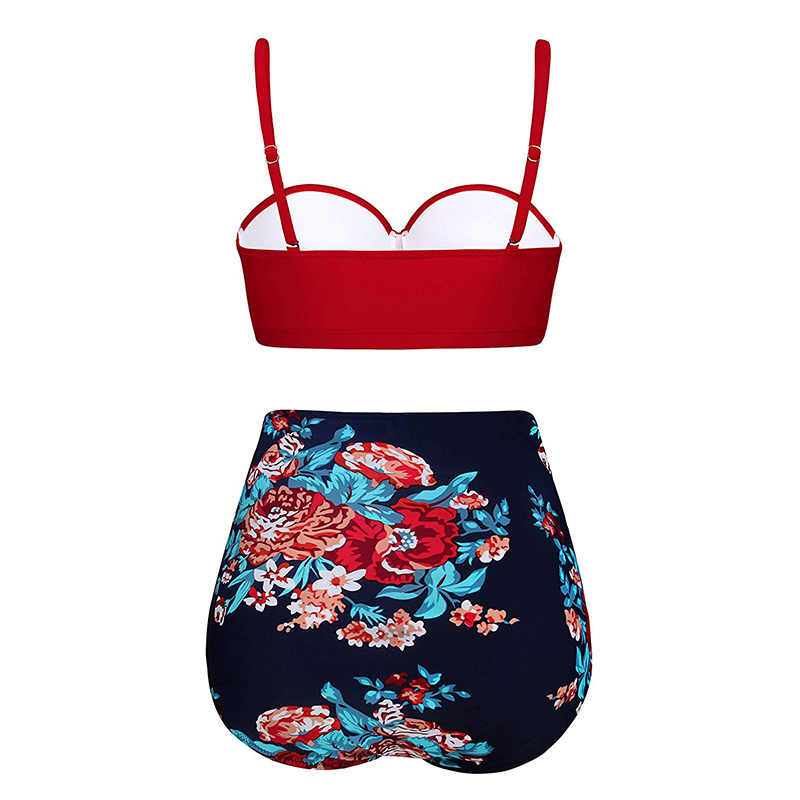 HTB1kqfIbdfvK1RjSspfq6zzXFXah High Waist Swimsuit 2019 Black White Striped Bikinis Women Bandage Top Push Up Swimwear Female Bathing Suits Beach Wear Biquini
