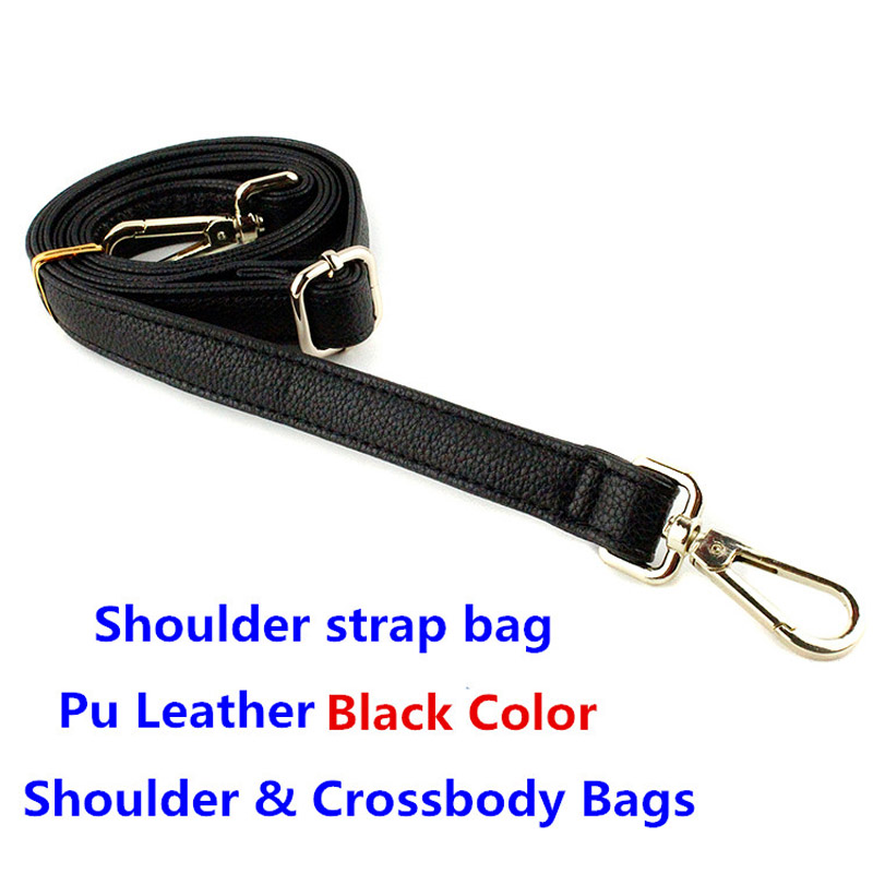 Detachable Replacement Women Girls Pu Leather Bag Strap Belt Shoulder Bag Accessories Belts Long Handbag Band