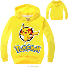 Pokemon Go Baby Boy Girl Sweater Hoodie Fashion Fall Winter Childrens Wear