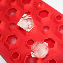 3d Diamonds Gem Cool Ice Cube Chocolate Soap Tray Mold Silicone Fodant Moulds Drop Shipping