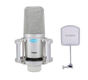 Image 2 - Alctron TH600 große membran professional studio aufnahme kondensator mic für gesangs aufnahme, bühne leistung, live übertragung