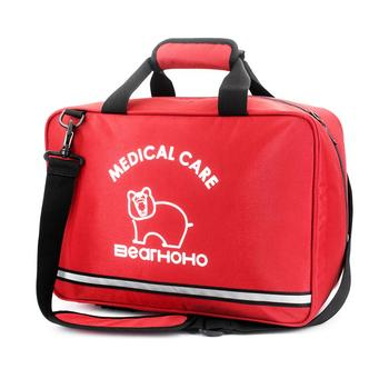 Empty First Aid Bag Cars Medical Bag First Aid Emergency Survival Kit For Camping Travel Bag Large Size (39x16x26cm) survival red waterproof 2l first aid bag emergency kits empty travel dry bag rafting camping kayaking portable medical bag