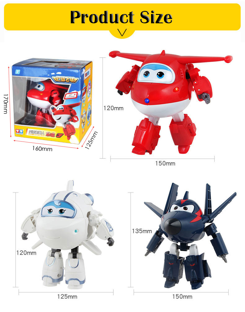 Super Wing Transformation toys for children gift Brinquedos