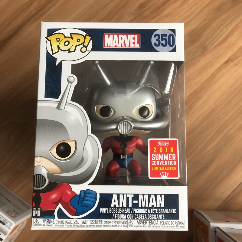 Marvel Classic Ant Man SDCC 2018 Exclusive 2018 #350 Funko Pop