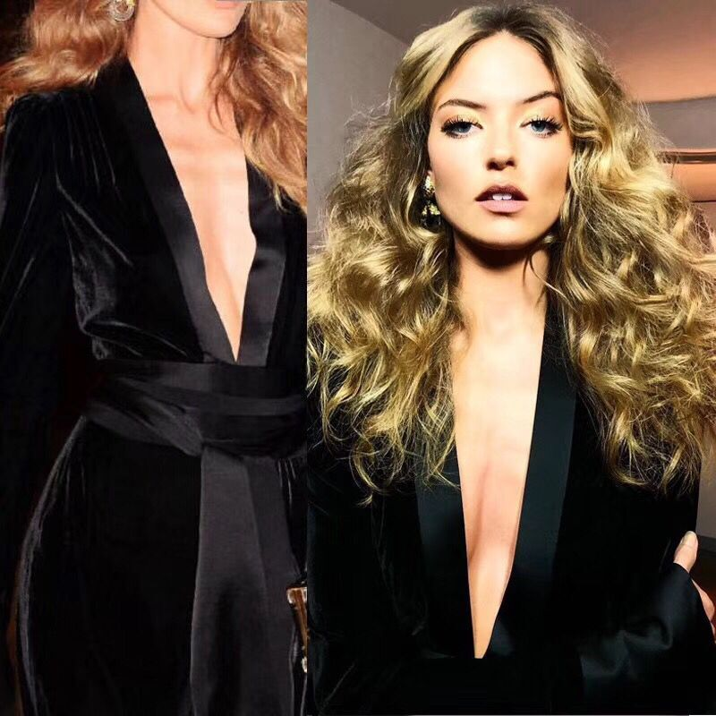Celebrity Sexy Moulante Nouvelle D'été Femmes Halinfer 2018 Salopette Ceintures Bandage Robes Noir Party Combinaisons YxPUTxSX