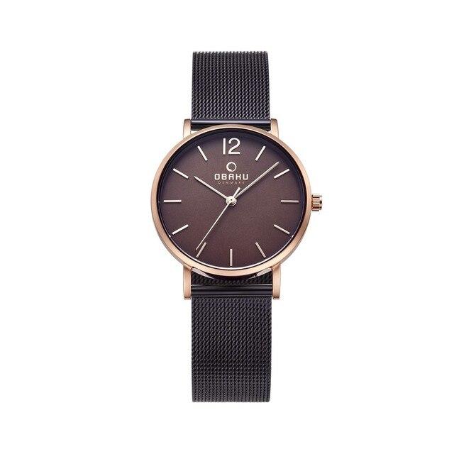 Наручные часы Obaku V197LXVNMN женские кварцевые на браслете