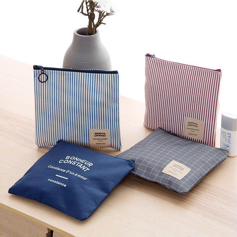 Towel-Pouch Organizer-Holder Napkin-Towel Storage-Case Diaper Cosmetic Travel-Bags Sanitary-Pad