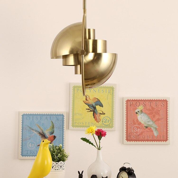 Nordic Pendant Light Modern GUBI Pendant Lamp For Kitchen Living Room Globe Hanging Lamp Light Fixture Home Lighting