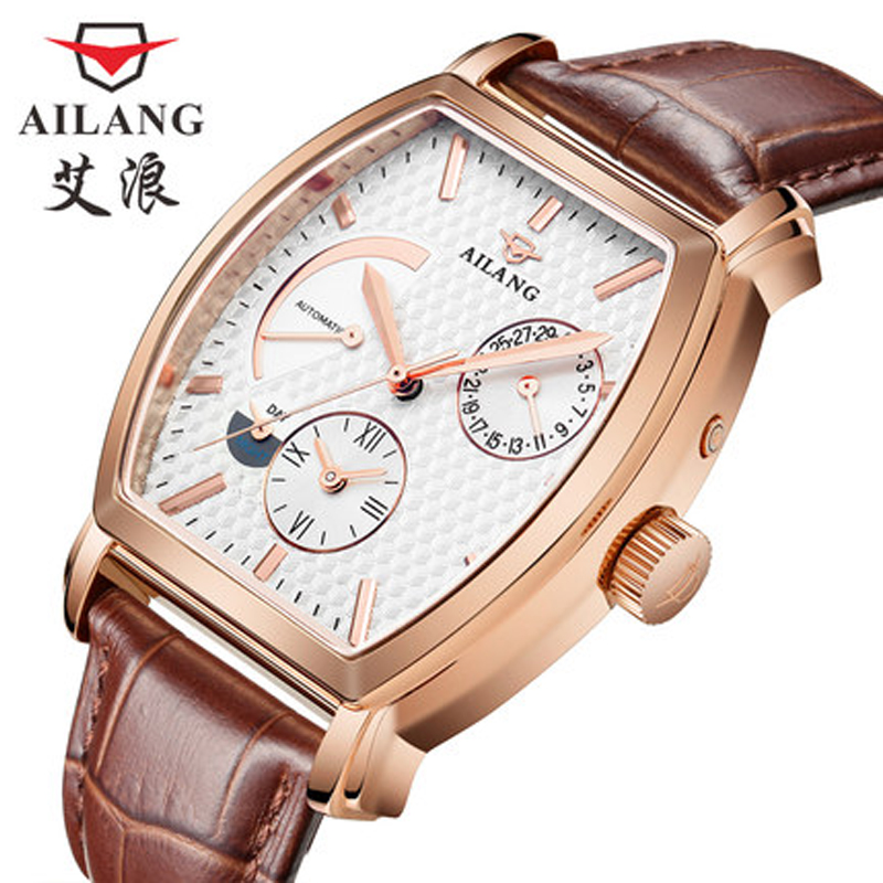 Luxury brand men all steel watch men automatic mechanical watches multi functional military sports watch Relogio Hotel Masculino цена и фото