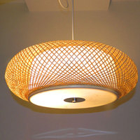 Bamboo living room wicker pendant lights bedroom restaurant bamboo lanterns southeast tatami antique tea Korean ZH ZS81