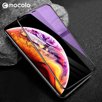 for iPhone XS Screen Protector Mocolo 3D Cover Anti Blue Ray XR Glass Film for iPhone XS Max Tempered Glass Screen Protector