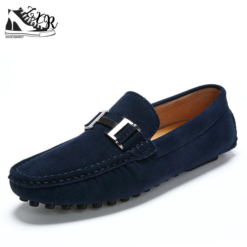 High Quality Genuine Leather Men Loafers Fashion Slip-on Driving Shoes Men Moccasin Boat Shoes Causal Flats Men Shoes Size 38-44 chic love hearts pattern wall sticker for bedroom livingroom decoration