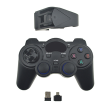 Mobile Phone Android 2.4G Wireless Gamepad Joystick Controller with OTG Converter Joypad For Tablet PC TV Box For Smart Phone