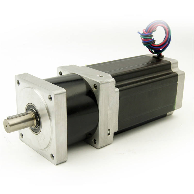 NEMA34 Reducer ratio 4:1/5:1/10:1/16:1/20:1/25:1/40:1/50:1/100:1 Planetary Gearbox Stepper Motor 156mm motor length 4.2A 4leads 1 1 9l
