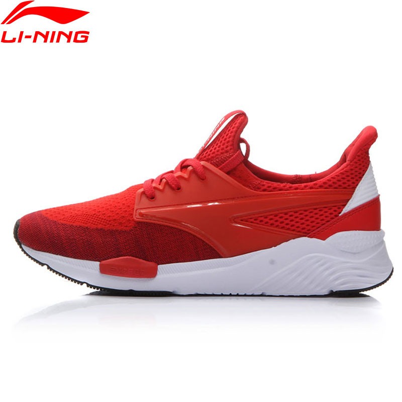 Li-Ning MONO YARN Exceed Walking Shoes Men LiNing Sneakers Breathable Cushion Sports Shoes AGCM033 YXB051 peak sport speed eagle v men basketball shoes cushion 3 revolve tech sneakers breathable damping wear athletic boots eur 40 50
