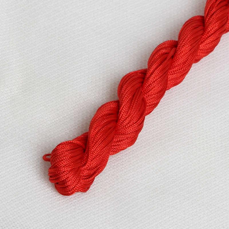 1.0mm Mercerizado Para A Mão de Tricô Fio Cabo Tópico Chinês Knot Macrame Corda Para Cuidar Da Casa 2018 Nova Chegada