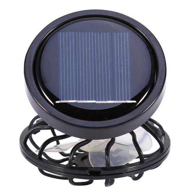Novelty Technology Products Solar Mini Fan Outdoor Camping Hiking Tools Portable Enviromental Solar Fan